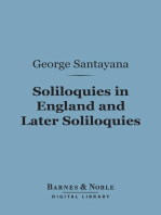 Soliloquies in England and Later Soliloquies (Barnes & Noble Digital Library)