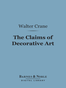 The Claims of Decorative Art (Barnes & Noble Digital Library)