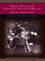 Early Works of Edna St. Vincent Millay (Barnes & Noble Library of Essential Reading)