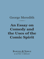 An Essay on Comedy and the Uses of the Comic Spirit (Barnes & Noble Digital Library)