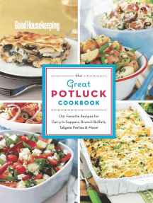 Good Housekeeping The Great Potluck Cookbook: Vegetarian Meals, Light & Healthy, and Grains!