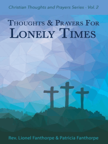 Thoughts and Prayers for Lonely Times: Christian Thoughts and Prayers Series, #2