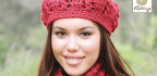 Slouch Hat and Buttoned Scarf