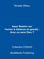 Isaac Newton sur l'action à distance en gravitation: Avec ou sans Dieu ?