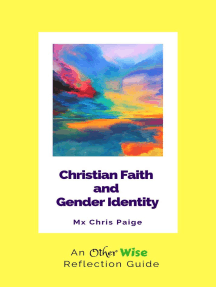 Christian Faith and Gender Identity: An OtherWise Reflection Guide
