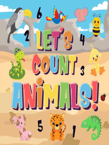 Let's Count Animals! | Can You Count the Dogs, Elephants and Other Cute Animals? | Super Fun Counting Book for Children, 2-4 Year Olds | Picture Puzzle Book: Counting Books for Kindergarten, #1