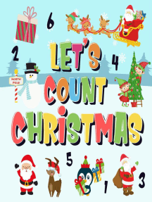 Let's Count Christmas! | Can You Find & Count Santa, Rudolph the Red-Nosed Reindeer and the Snowman? | Fun Winter Xmas Counting Book for Children, 2-4 Year Olds | Picture Puzzle Book: Counting Books for Kindergarten, #2