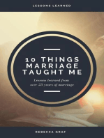 10 Things Marriage Taught Me