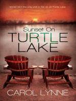 Sunset on Turtle Lake