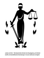 Justitia wird blind