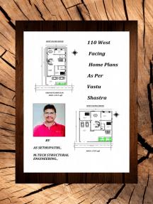 110 West Facing Home Plans As Per Vastu Shastra