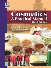 Cosmetics: A Practical Manual