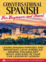 Conversational Spanish for Beginners and Travel