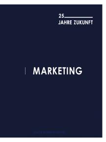 Marketing - 25 Jahre Zukunft