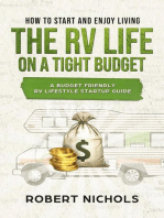 How to Start and Enjoy Living the RV Life on a Tight Budget - A Budget Friendly RV Lifestyle Startup Guide