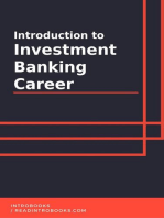 Introduction to Investment Banking Career
