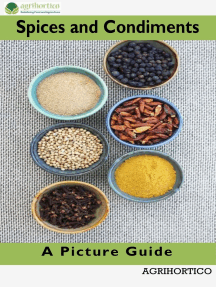 Spices and Condiments: A Picture Guide