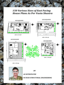 150 Various Sizes of East Facing House Plans As Per Vastu Shastra: First, #1