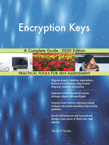 Encryption Keys A Complete Guide - 2020 Edition