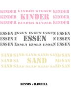 Kinder Essen Sand