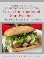 Your Cooking Companion's Guide to Great International Sandwiches