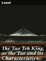 The Tao Teh King, or the Tao and its Characteristics