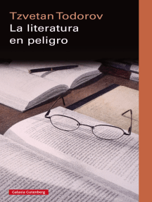 La literatura en peligro