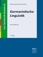 Germanistische Linguistik: Eine Einführung