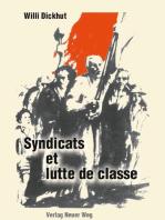 Syndicats et lutte de classe