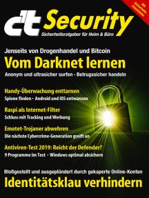 c't Security (2019): Vom Darknet lernen