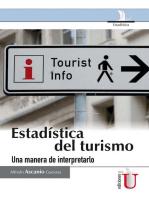 Estadística del turismo: una manera de interpretarlo