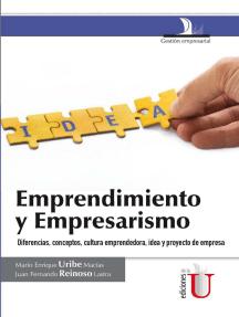 Emprendimiento y empresarismo. Diferencias, conceptos, cultura emprendedora, idea y proyecto de empresa