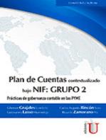 Plan de Cuentas bajo NIF