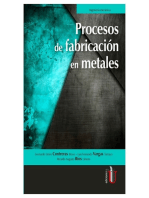 Procesos de fabricación en metales