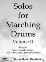 Solos for Marching Drums - Volume 2