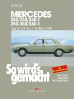 Mercedes 200 / 230 / 230 E / 250 / 280 / 280 E: So wird´s gemacht - Band 56