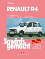 Renault R4 10/1962 bis 9/1986: So wird's gemacht - Band 62 (Print on demand)