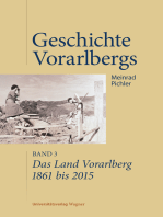 Das Land Vorarlberg 1861 bis 2015