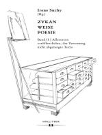 Zykan - Weise - Poesie. Band II