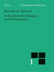 Sämtliche Werke, Bd. 7: Lebensbeschreibungen und Dokumente