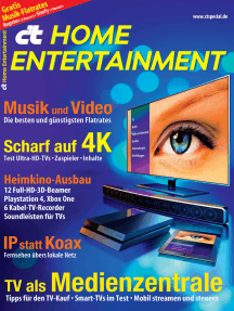 c't Home Entertainment 2014: Tests und Beratung rund um Video und Audio