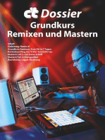 c't Dossier: Grundkurs Remixen und Mastern: Musik machen ohne Instrumente