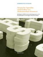 Deutsche Sprache und Kultur im afrikanischen Kontext