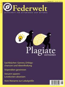 Federwelt 127, 06-2017: Zeitschrift für Autorinnen und Autoren