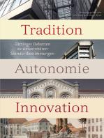 Tradition - Autonomie - Innovation