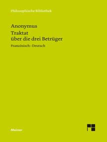 Traktat über die drei Betrüger (1768): Franz. /Dt.