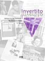Invertito. Jahrbuch für die Geschichte der Homosexualitäten / Invertito. 17. Jahrgang 2015