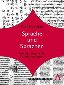 Sprache und Sprachen: Eine philosophische Grundorientierung