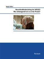 Neurofeedbacktraining bei AD(H)S