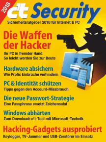 c't Security (2018): Sicherheitsratgeber 2018 für Internet & PC